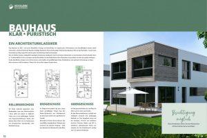 kommunikationssalon Imagebroschüre ECOLINE Holzsystembau
