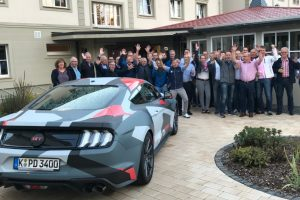 Event - Incentive Ford Trophy Fahrzeugpraesentation - kommunikationssalon