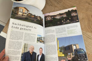 kommunikationssalon Printwerbung Advertorial Bel Etage