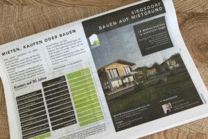 kommunikationssalon Printwerbung Advertorial TTagblatt Eco BaM 2